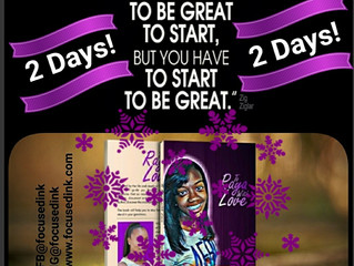 Stepping Out and Being Great in 2 days!