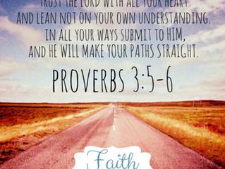 Focused on the Path