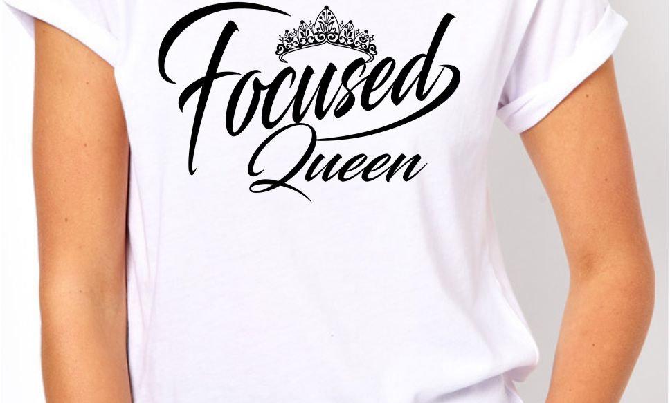 Focused Queen Tee