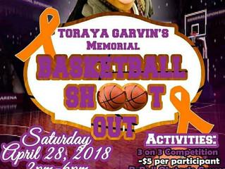 Toraya Jai Garvin Foundation Presents: