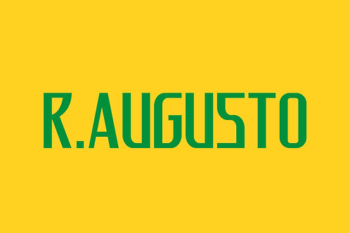 Brazil Home Nameblock - Youth -R.Augusto