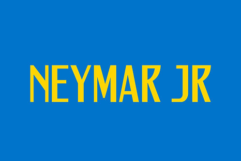 Brazil Away Nameblock - Adult -Neymar JR