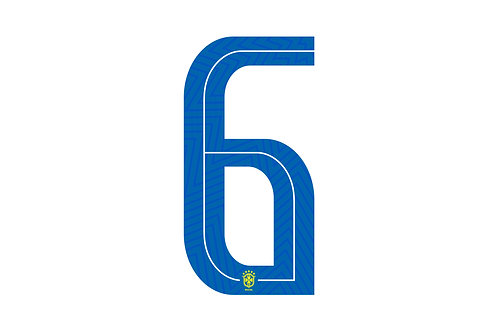 Brazil Third Number - Adult -6