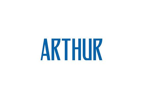 Brazil Third Nameblock - Adult -Arthur