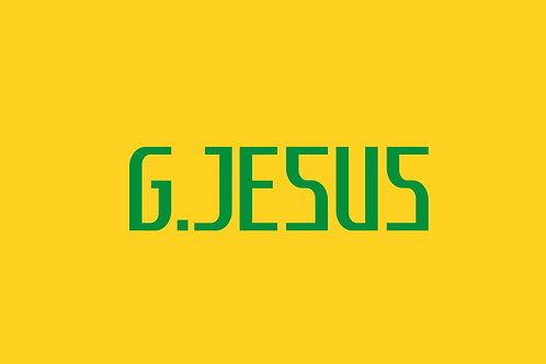 Brazil Home Nameblock - Adult -G.Jesus