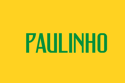 Brazil Home Nameblock - Youth -Paulinho