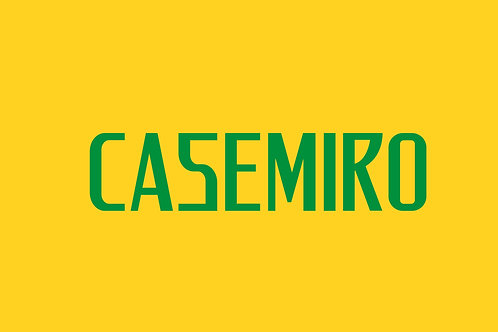 Brazil Home Nameblock - Adult -Casemiro