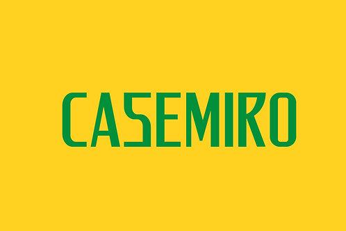Brazil Home Nameblock - Youth -Casemiro