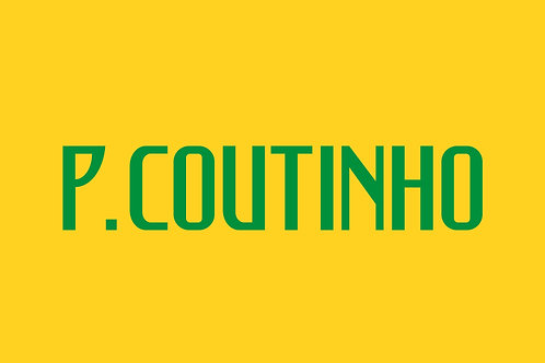 Brazil Home Nameblock - Adult -P. Couthinho