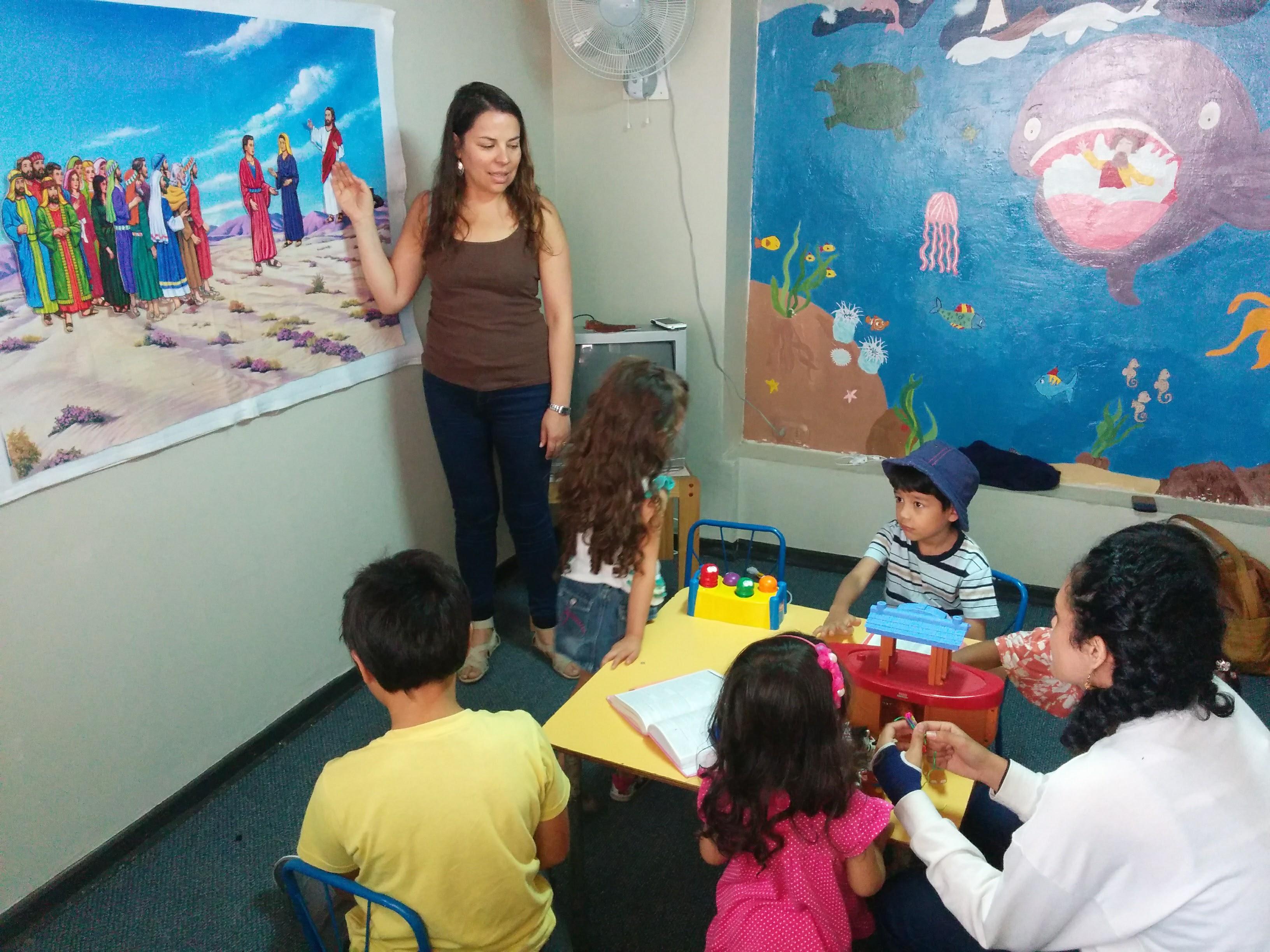 Sunday School little kids (1)