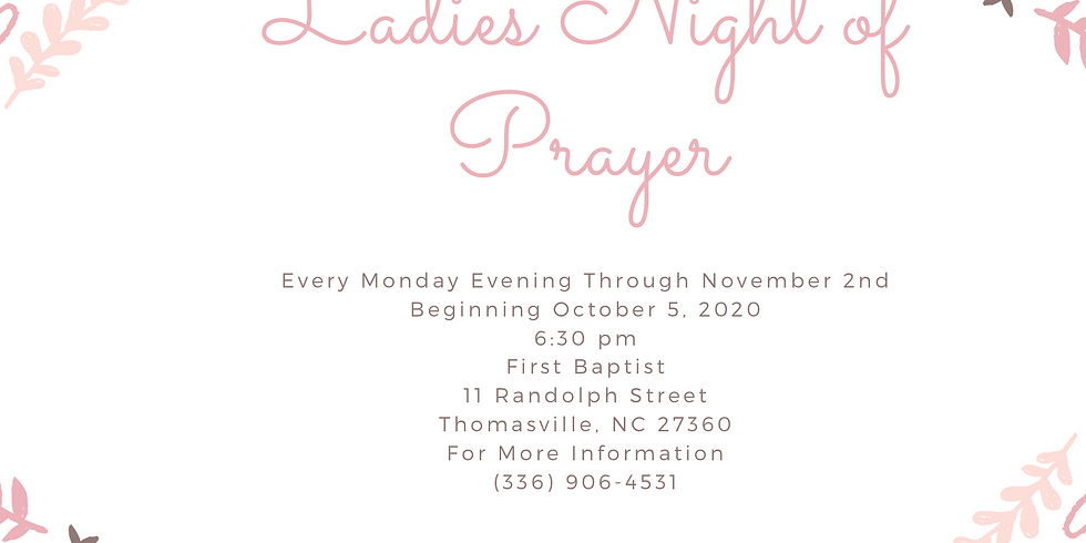Ladies Night of Prayer