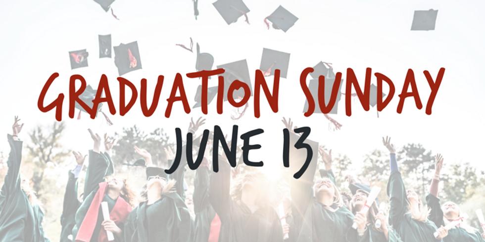 Graduation Sunday   Rich Fork Students