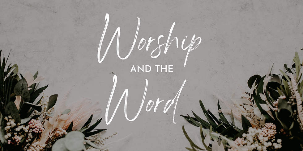Worship & the Word Women's Group