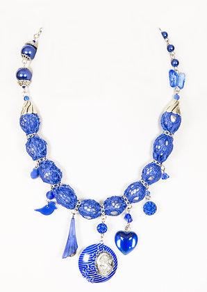 Élan gothique - bleu royal