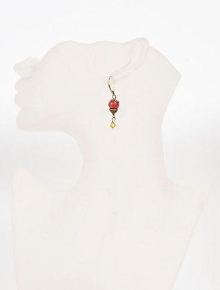 Poésie - fleur rouge