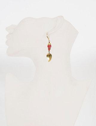 Poésie - Feuille rouge