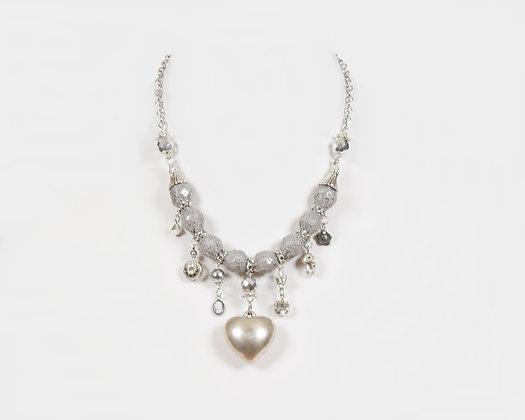 Coeur gris - Minimaliste