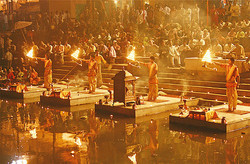 Varanasi Puja at Ghat