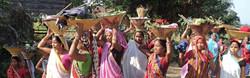 Tharu Adivasis, Dhudwa Park near Lucknow