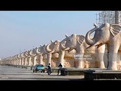 Ambedkar Park in gomti nagar, Lucknow 2.