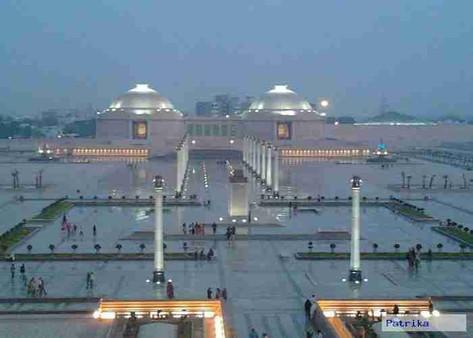 Ambedkar Park in gomti nagar, Lucknow 5.