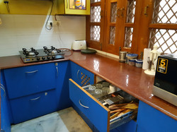 Kitchen of 2BHK Executive Suite