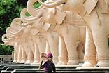 Ambedkar Park in gomti nagar, Lucknow 1.