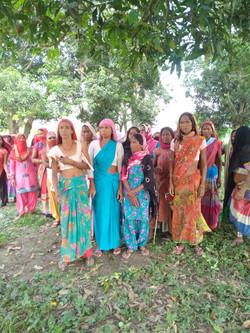 Adivasis, Dudhwa Park near Lucknow in UP