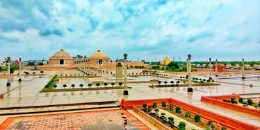 Ambedkar Park in gomti nagar, Lucknow 7.
