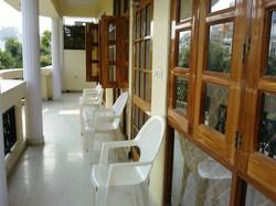 Veranda of 2BHK Executive Suite
