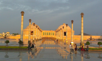 Ambedkar Park in gomti nagar, Lucknow
