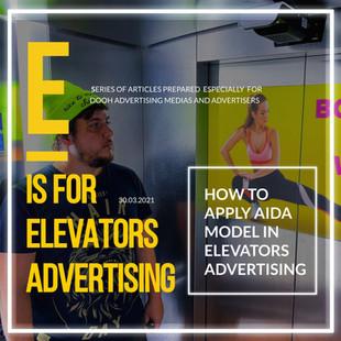 HOW TO APPLY AIDA MODEL IN ELEVATORS ADVERTISING