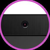 Встроенная широкоугольная HD-камера