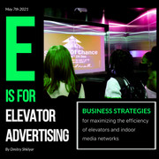 BUSINESS STRATEGIES FOR MAXIMIZING THE EFFICIENCY OF ELEVATOR AND INDOOR ADVERTISING NETWORKS