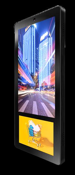 Elevator Advertising Indoor Advertising Digital Signage Display Ei-Slim Dual by Eastidea - 3