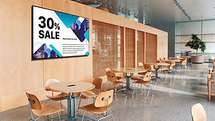 Proffessional advertising digital signage 65 inch display with high brightness Ei-Excel