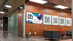 Proffessional advertising digital signage display with high brightness Ei-Excel