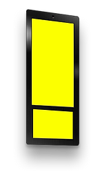 Дисплей Ei-SlimDualдля рекламы в лифтах