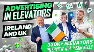 A ZOOM INTERVIEW WITH JASON KEELY. ADVERTISING IN ELEVATORS UK & IRELAND.