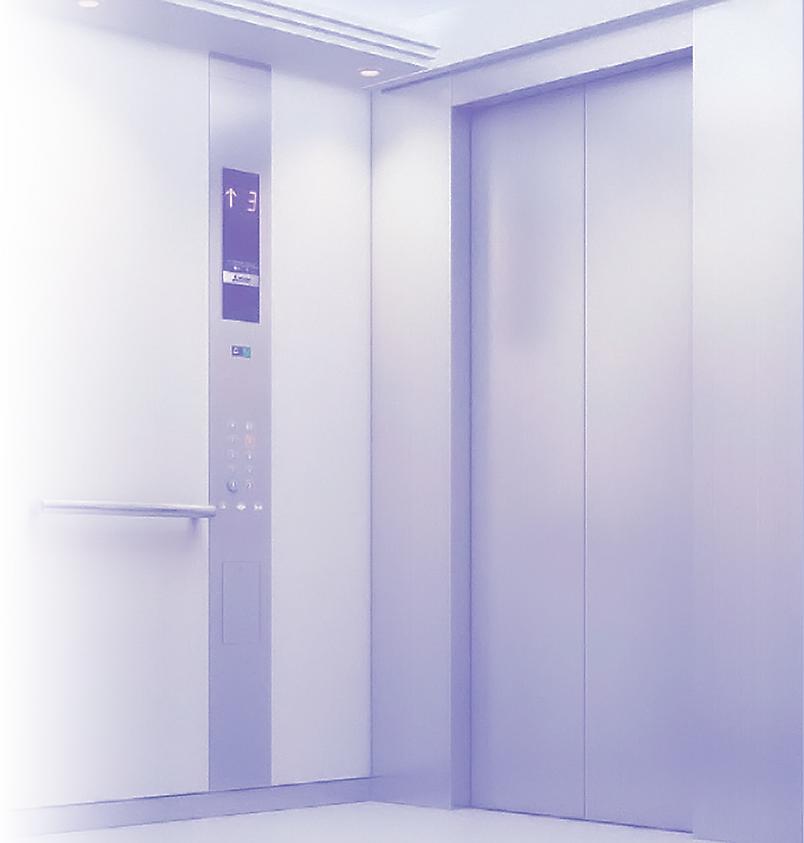 Лифт - вид изнутри
