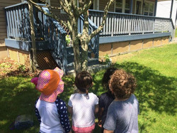 What are the SunChimes kiddos so interested in_  Think Where s Waldo!!