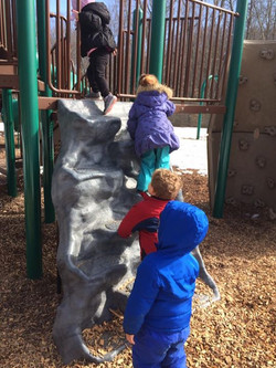 Took the SunChimes Kiddos to a local playground today to celebrate the beautiful spring-like day