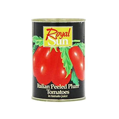 Plum Tomatoes peeled (royal sun)
