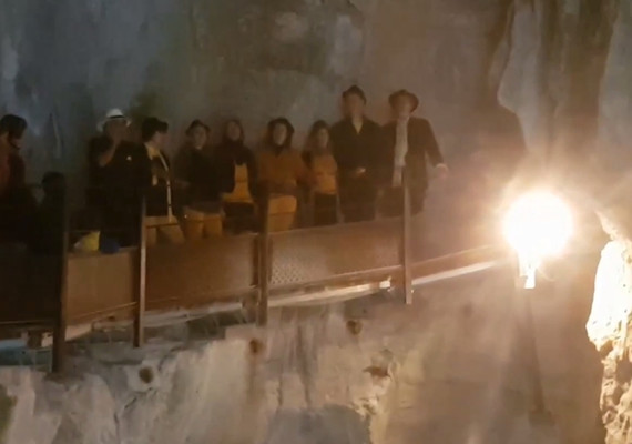 passerelle grotte bassse 2