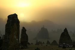 Sunrise At Pinnacle Desert