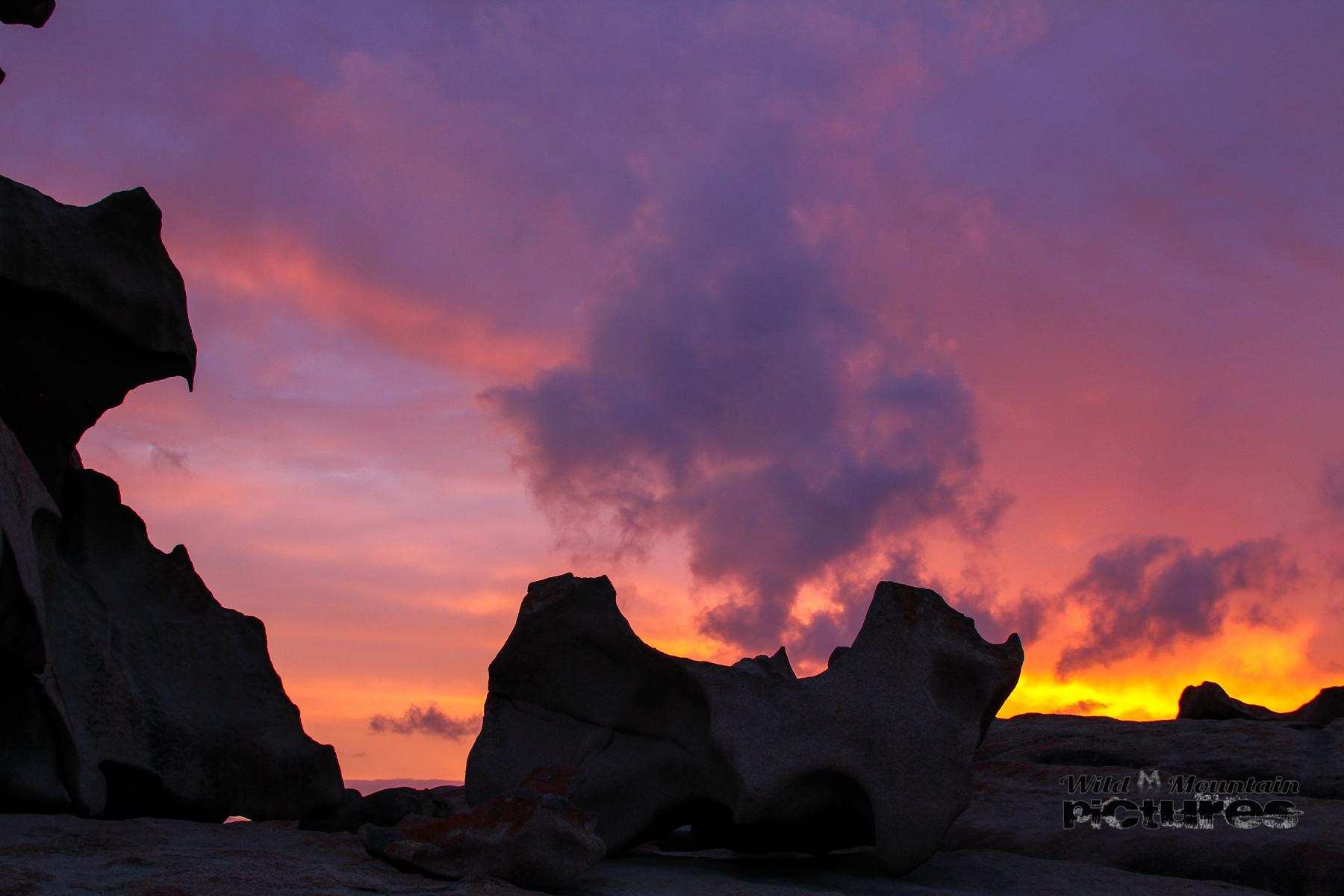 Remarkable Rocks Sunset