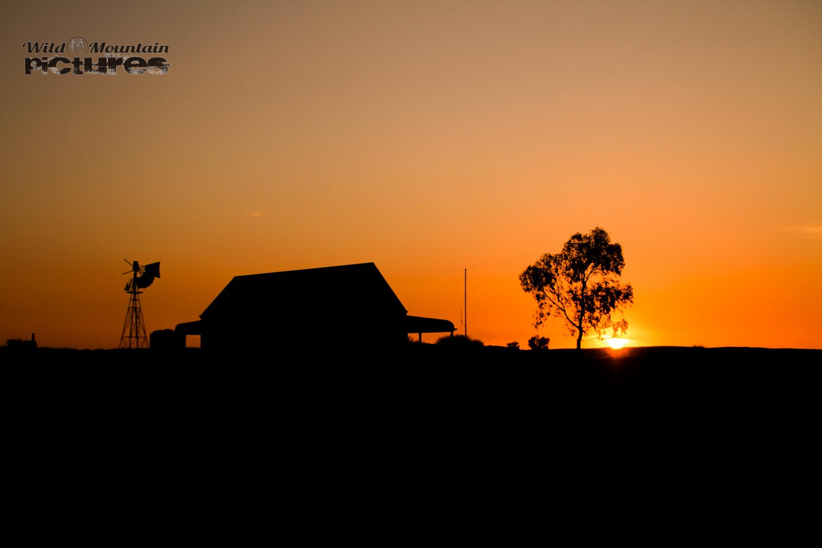 Silverton at Sunset