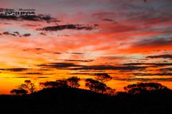 Sunset at Mount Augustus NP