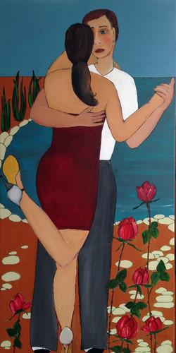 Milongear   acrylic on canvas 100 x 50 cm   € 1,400.jpeg