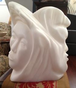 Aviva Berger Double heads (3)